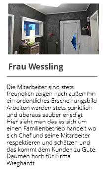 Frau Wessling